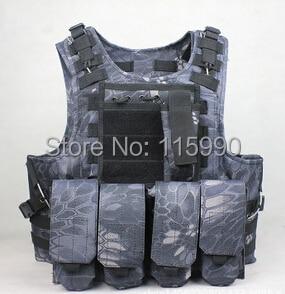 Typhon Tactical Vest Kryptek Tactical vest outdoor products seal Camouflage High quality cs Counterterrorism Military Vest