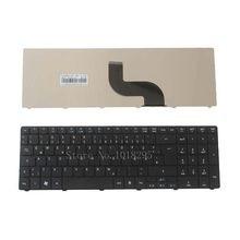 Немецкая клавиатура для ноутбука Acer Aspire 7741 7741G 7741Z 7745G 8942 8942G 7739G 7739Z 7739ZG 8940 5335 5735 5735G 7738G GR черный