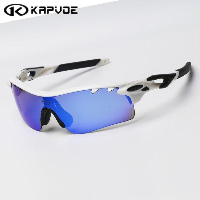 Kapvoe Polarisées Vélo lunettes de soleil Vélo de Course De Pêche sport  Cyclisme lunettes bicicleta Gafas 35b812da1e39