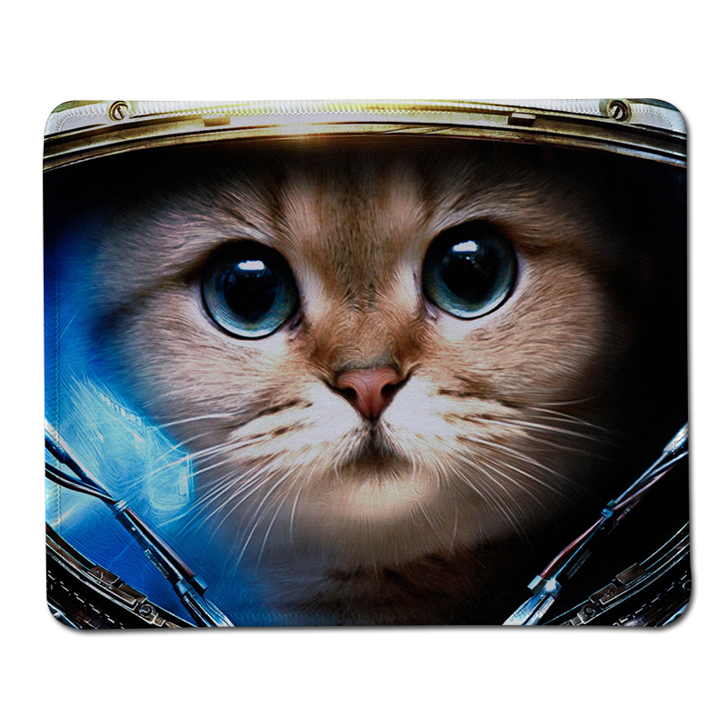Hot Starcraft 2 Cat Print Locking Edge Rubber Mousepad Computer Notebook Gaming Mouse Pad Gamer Mice Play Mats