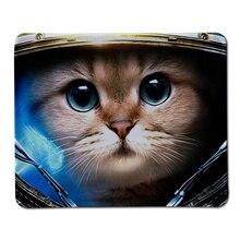 ร้อนS Tarcraft 2แมวพิมพ์ล็อคขอบยางM Ousepadคอมพิวเตอร์โน๊ตบุ๊คเล่นเกมแผ่นรองเมาส์หนูเสื่อเล่น