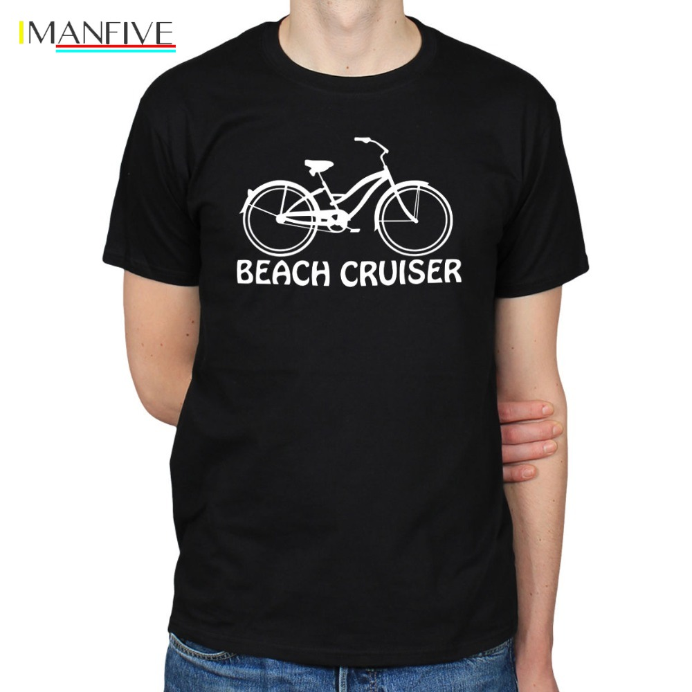 2019 Hot Sale 100 cotton BEACH CRUISER BICYCLE BIKES CYCLINGS LOWRIDER HIPSTER SCENE T SHIRT TEE Tee shirt in T Shirts from Men 39 s Clothing