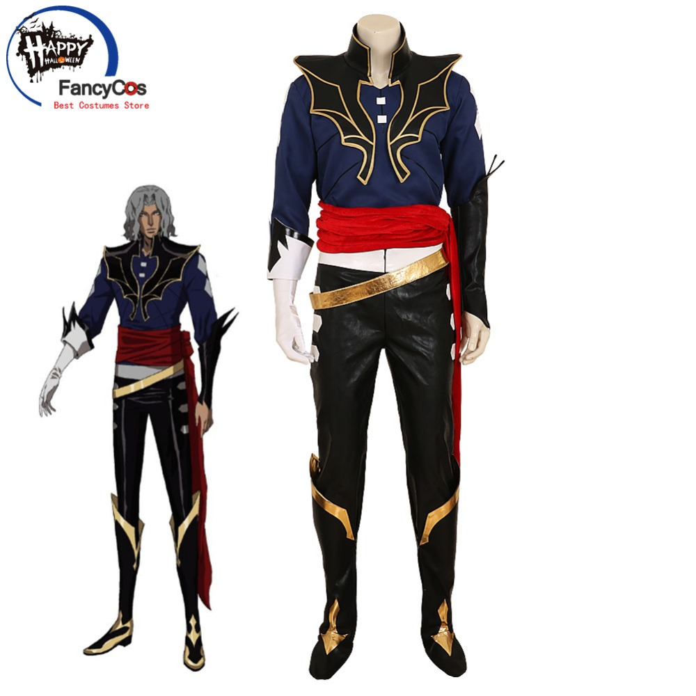 FancyCos 2018 Castlevania Cosplay Hector Halloween Costume Devil Forgemaster Curse of Darkness High Quality Deluxe Custom Made