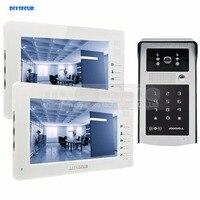 DIYSECUR 1024 X 600 7 Inch HD TFT LCD Monitor Video Door Phone Video Intercom Doorbell