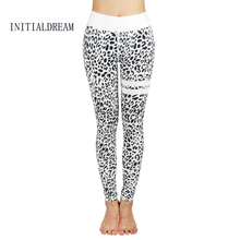 Fashion Women Leggings Slim High Waist Elasticity Leggings Leopard Printing leggins Woman Pants Leggings
