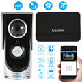 Wireless Video Door Phone Wifi Video Doorbell Intercom 720P Camera PIR IR Night Vision Video Doorphone Rainproof SmartPhone