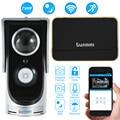 Wireless Video Door Phone Wifi Video Doorbell Intercom 720P Camera PIR IR Night Vision Video Doorphone Rainproof SmartPhone