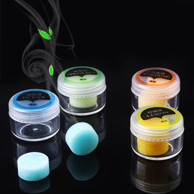 2Pcs Car Air Freshener Replacement Vent Clip Perfume Auto Smell Diffuser Refills Oil Solid Pill Fragrance Pad Scent