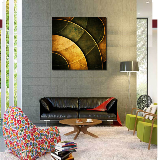 single original design post modern paintings printed on canvas for hotel or living room decoration