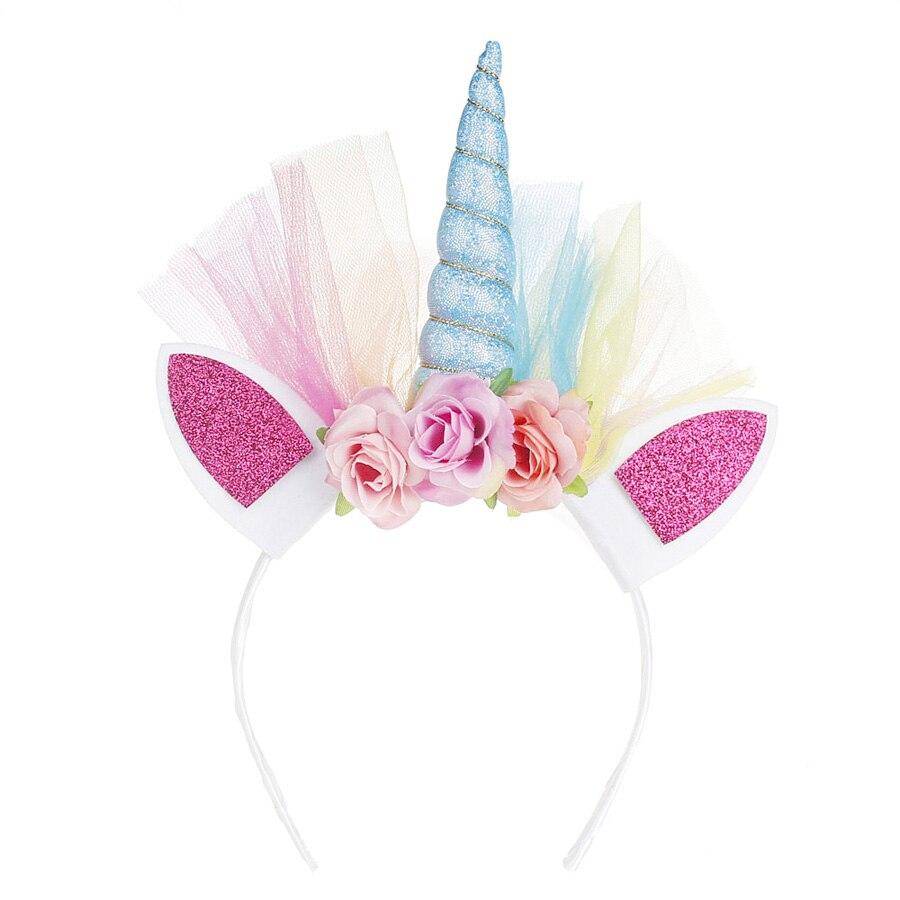 Fluffy Rainbow Dash Girls Tutu Dress with Headband Princess Kids Pony Birthday Party Tutu Dress Girl Halloween Carnival Costume (9)