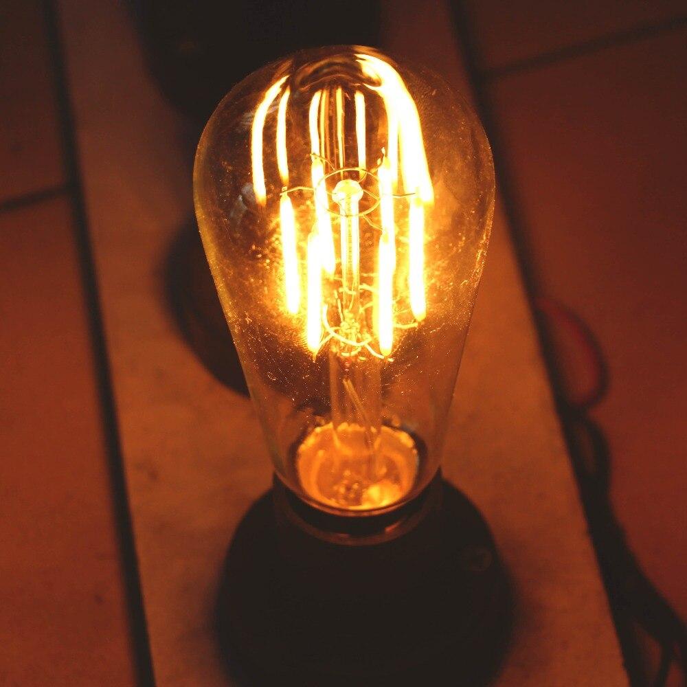Lâmpadas Led e Tubos retro lâmpada decorativa Marca do Chip Led : Epistar