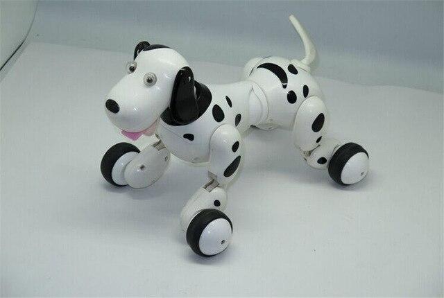 Дети Игрушки 2.4 Г беспроводной пульт дистанционного управления робот интеллектуальный робот собака детские игрушки тамагочи oyuncak brinquedos перро patrulha канина
