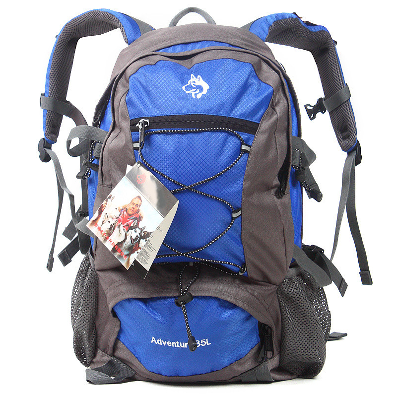 Sled dog backpack small sports backpack classic men and women with waterproof bags 35 l Outdoor Climbing Bags sport backpack