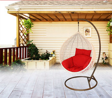 Double round hanging basket swing indoor and outdoor leisure rocking chair recliner child balcony PE rattan