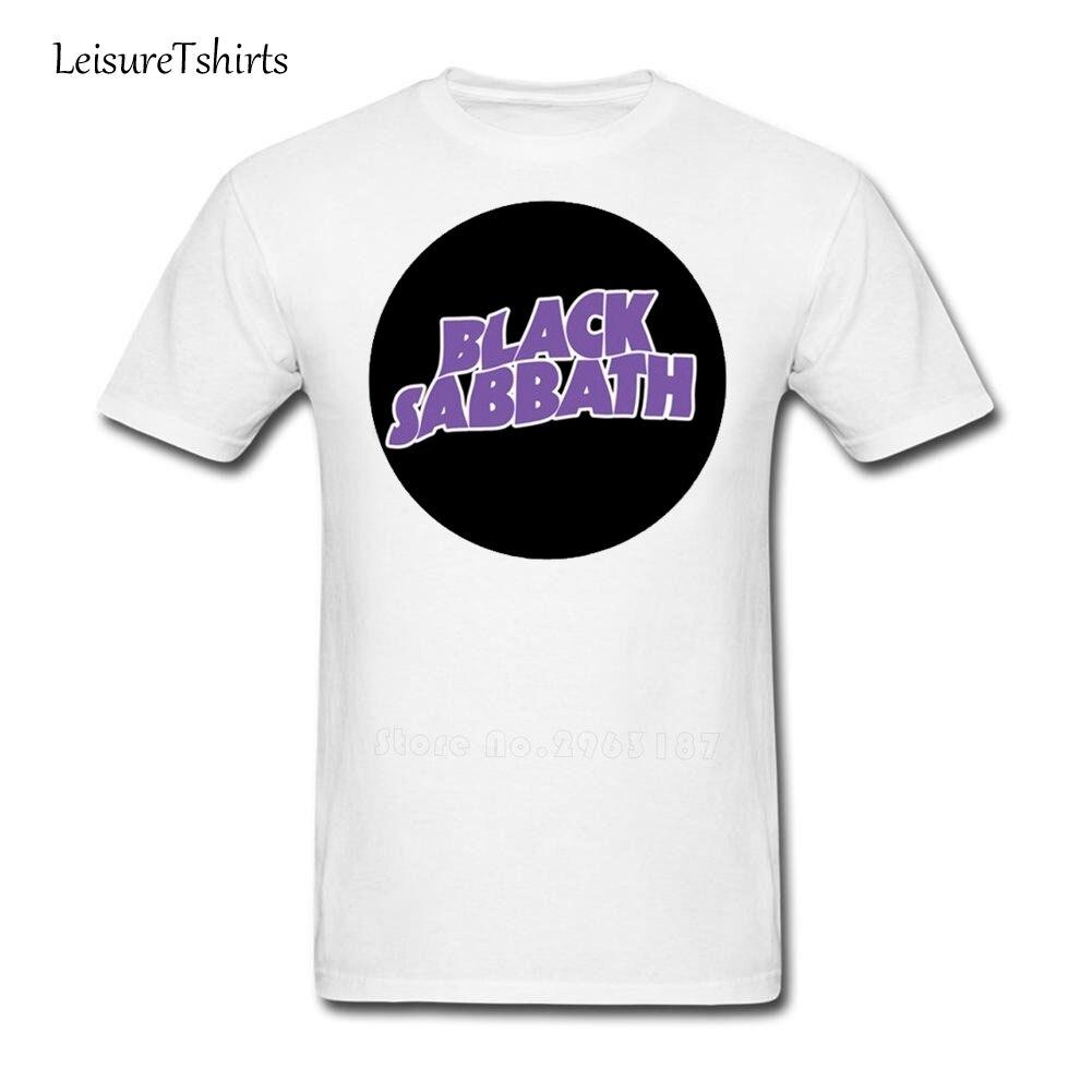 Design t shirt class - Black Sabbath Class Logo Rock T Shirt Design Class Loose T Shirts Men S Short Sleeve O Neck Tees Dad Latest Unique Clothes