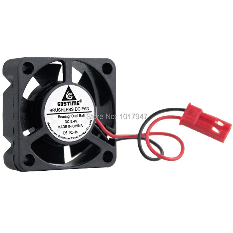 DC 12V 40mm 10mm Brushless Fan Cooling JST Connector For RC Car Boat Airplane