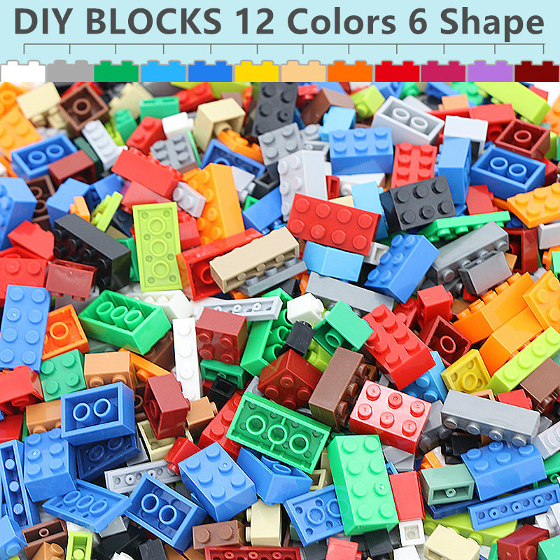 City Building Blocks Sets DIY Creative Bricks Creator Parts Compatible LegoINGs Minecrafted My World Classic Toys for Children