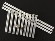 Sintron 2020 Openbeam Kossel Mini Delta 3D Printer 20mm x 20mm 4-slot Aluminum Profile Extrusion Cover Kit Rostock