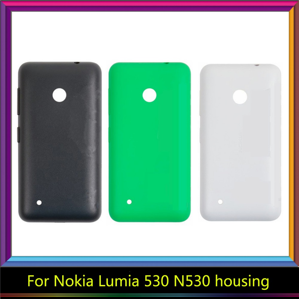 Buy For Nokia Lumia 530 N530 Housing Battery Cover Door Rear Chassis Back Case Replacement From Reliable Mobile Phone
