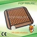 POP RELAX PR-C06A Hexágono piedra de germanio Turmalina almohadilla térmica 45x45 cm