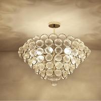 Ретро Винтаж подвесные светильники прозрачный стеклянный плафон чердак подвесные лампы E14 110 V 220 V для столовой освещение для домашнего деко