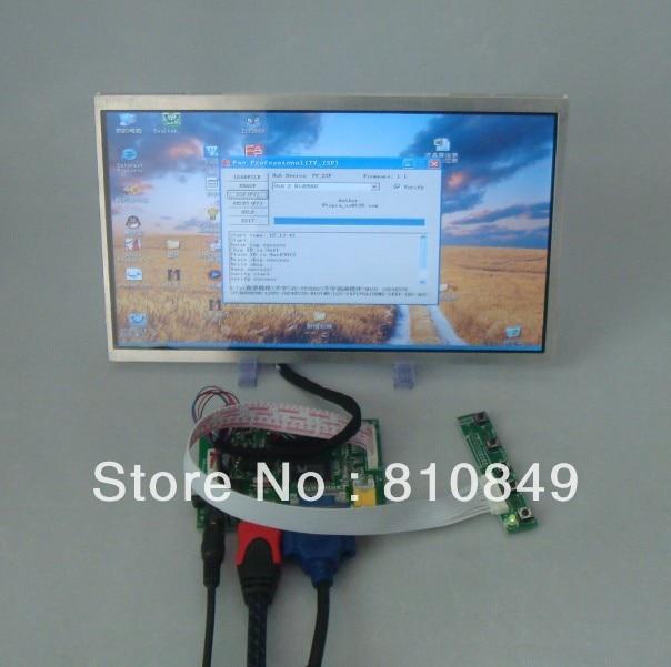 HDMI+VGA+2AV Driver board+10.1inch 1024X576 lcd panel N101N6 LP101WS1 vga 2av audio reversing lcd driver board 10 1inch n101bge 1366 768 lcd panel