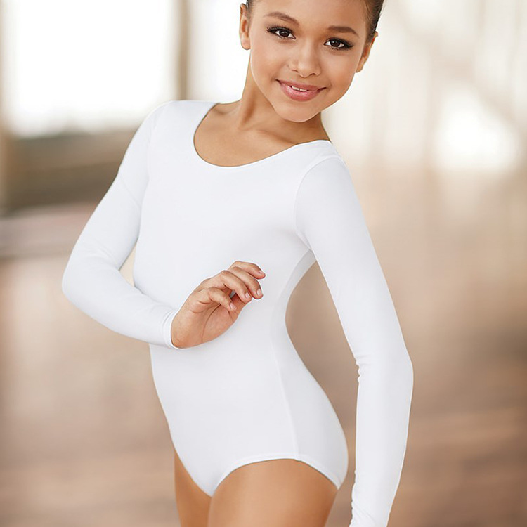 cc8dff6f1453 Dropwow Speerise Toddler Long Sleeve Gymnastics Leotards for Girls ...