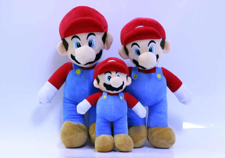 20 cm irmãos Super Mario mushroom plush toy Mario Luigi bonecos De Pelúcia Presentes de Boa qualidade Por Atacado