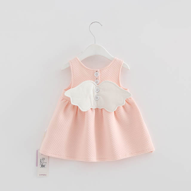 placeholder 2019 Baby Angel Feathers Party Dress Princess Kids Children  Infant Baby Dresses Baby Girls Dresses Newborn 9a169b4f630