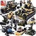 8 en 1 kits de edificio Modelo de tanque Militar 928 unids 3D bloques Educativos Del Bloque hueco de los niños Juguetes Mejores Regalos de Navidad de Los Niños regalos
