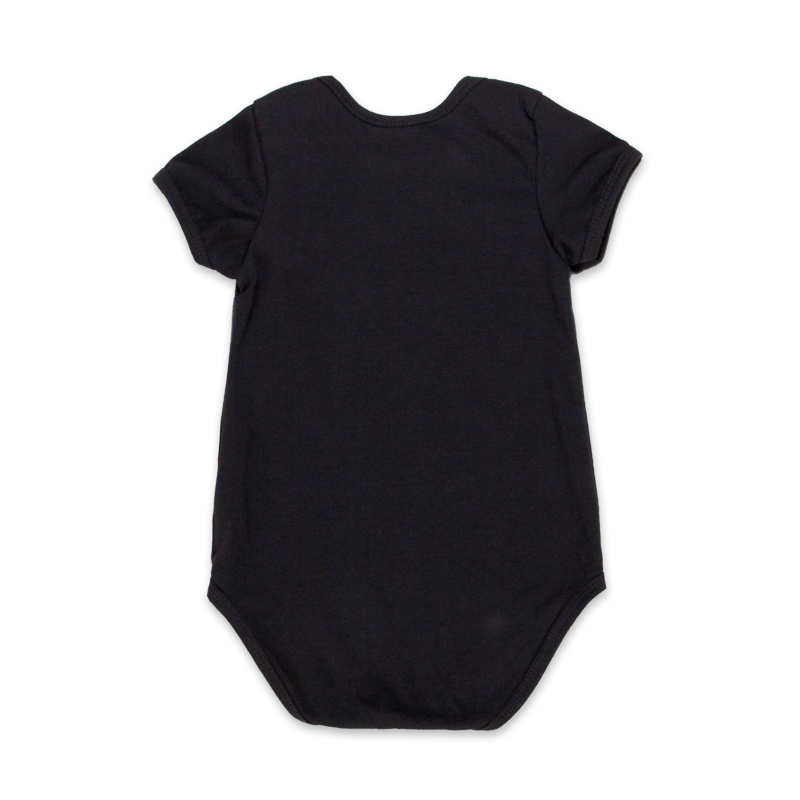 0971ca37513 Newborn Baby Girl Clothes 4pcs Clothing Sets Black Cotton Rompers ...
