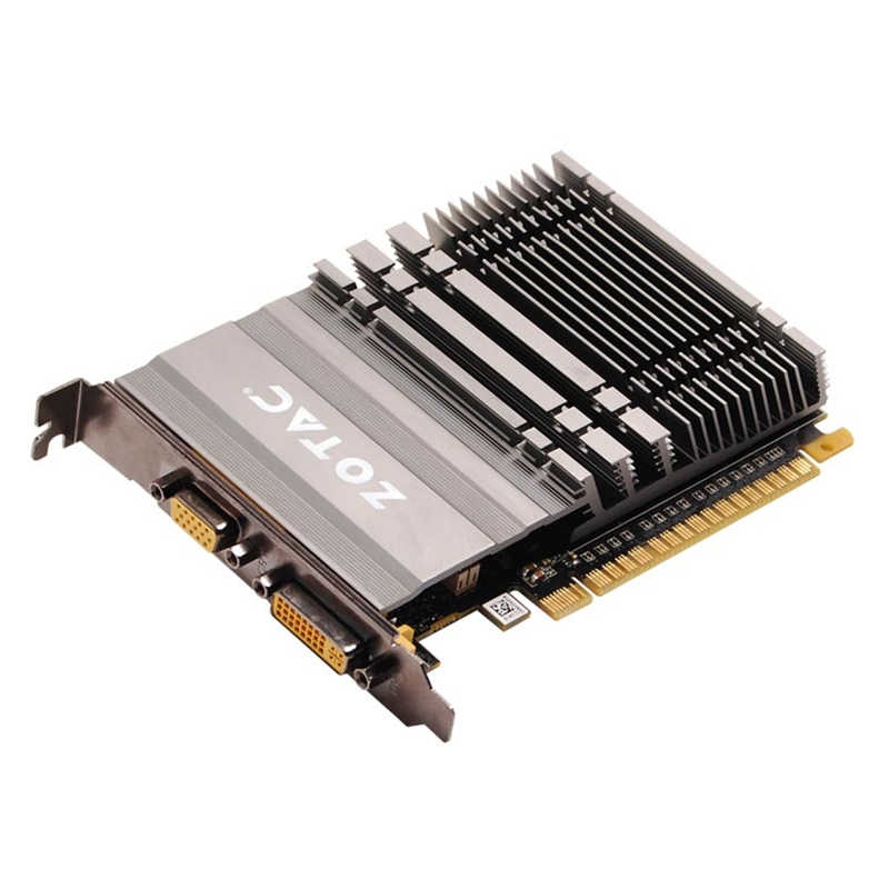 بطاقة فيديو ZOTAC GeForce GT610 1GB 64Bit GDDR3 GPU خريطة ل NVIDIA الأصلي GT 610 1GD3 Dvi VGA PCI-E Iceman VB VD بطاقة جرافيكس