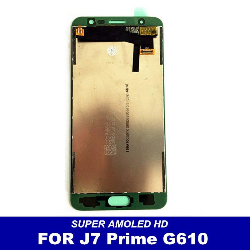 imágenes para 100% Probados de Trabajo libre del LCD Para Samsung Galaxy J7 Primer G610F G610K G610L G610S G610Y LCD Display de Pantalla Táctil Digitalizador Asamblea