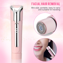 цена на Lady Razor Electric Facial Hair Remover Shaver Face Care Body Underarm Hair Removal Painless Portable Beauty Epilators