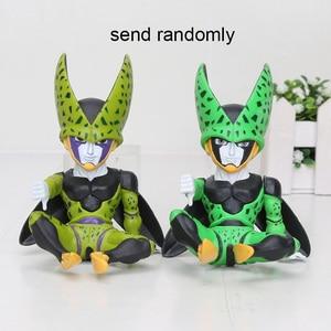 Image 5 - 11cm Anime Dragon Ball Fighter Z Majin Buu Cell PVC Action Figure Toys Model Kid Buu Freeza frieza Fina From