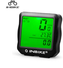 INBIKE 2016 Bike Bicycle <font><b>Computers</b></font> Waterproof Multifunction Digital Speedometer Cycling <font><b>Computer</b></font> Bicicleta With LCD Backlight