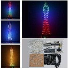 Diy kit diy люкс colorful небольшой талии DIY Свет Куб комплект СКМ окончания электронная музыка спектр diy kit