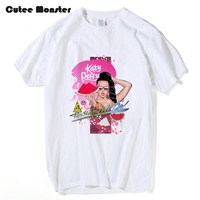 Music Star Katy Perry T Shirt This Is How We Do Fruit Sister Printed Top Tees