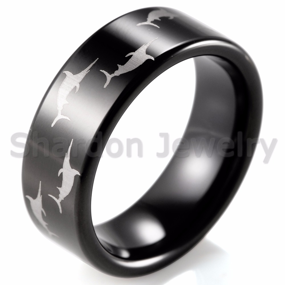 rings ring celtic fiber green tungsten carbon htm dragon wedding p silver band