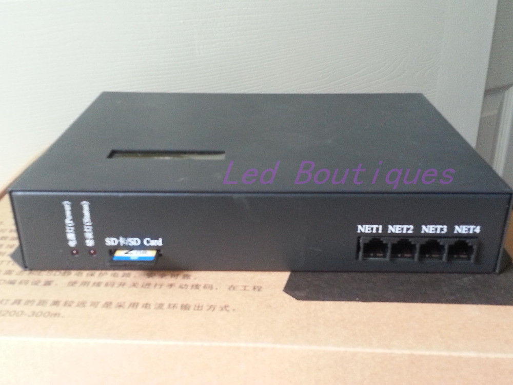 Contrôleur de pixel mené en ligne/hors ligne de T200K, peut être commandé par l'intermédiaire du PC, contrôleur compatible de WS2812 WS2811 6803 WS2801 IC rvb - 2