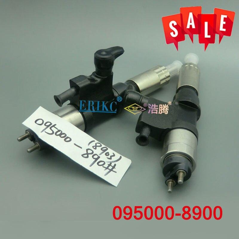 ERIKC Inyector 8900 injecteur de moteur Diesel 095000-8900 (8-98151837-2) Injection de distributeur de pompe à carburant CRDI 0950008900 pour Isuzu