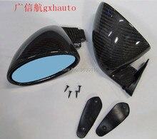 Universal TOP RACING California Mirrors Rearview Custom Hot Rod Classic Vitaloni PAIR carbon rearview mirror pair (R+L)