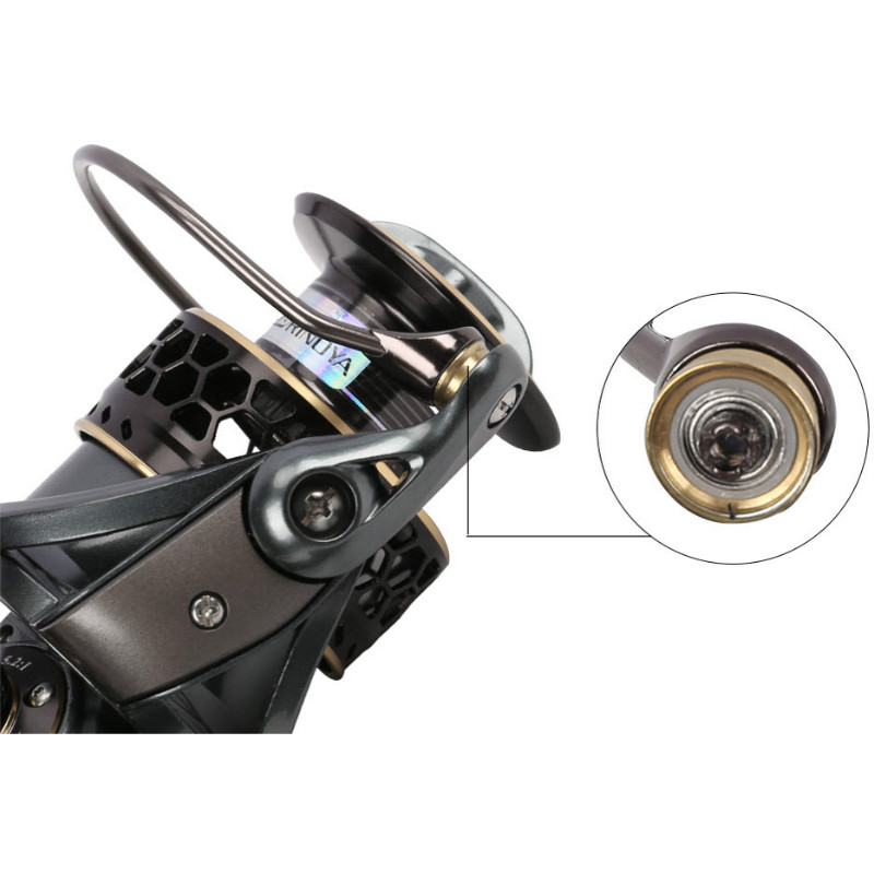 TSURINOYA Jaguar 4000 Spinning Fishing Reel Double Spools 9 + 1BB - Visvangst - Foto 5
