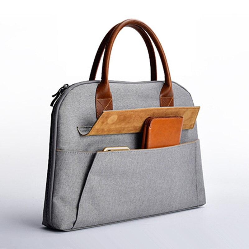 Tagdot Marque élégant Bureau de femmes ordinateur portable sacs 13.3 15 15.6 pouce Hommes de Business Notebook Sac 13 sac Pour macbook air 13 cas