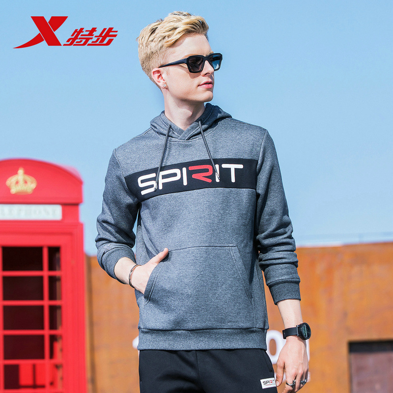 Trainings- & Übungs-sweater Sport & Unterhaltung 882429059101 Xtep Hoodies Unisex Mit Kapuze Sweatshirt Tier Hoodie Trainingsanzüge 2018 Pullover Männlichen Mantel Ausbildung Sweatshirt