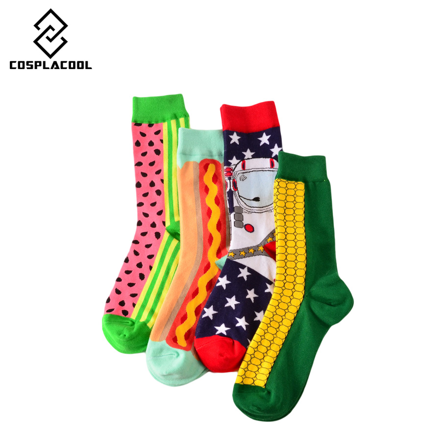 [COSPLACOOL] High Quality 75% Cotton Chaussette Homme Corn Ws