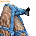 Newly Design Women Sexy Hosiery Elastic Fishnet Mesh Pantyhose Tights 170207 Drop Shipping