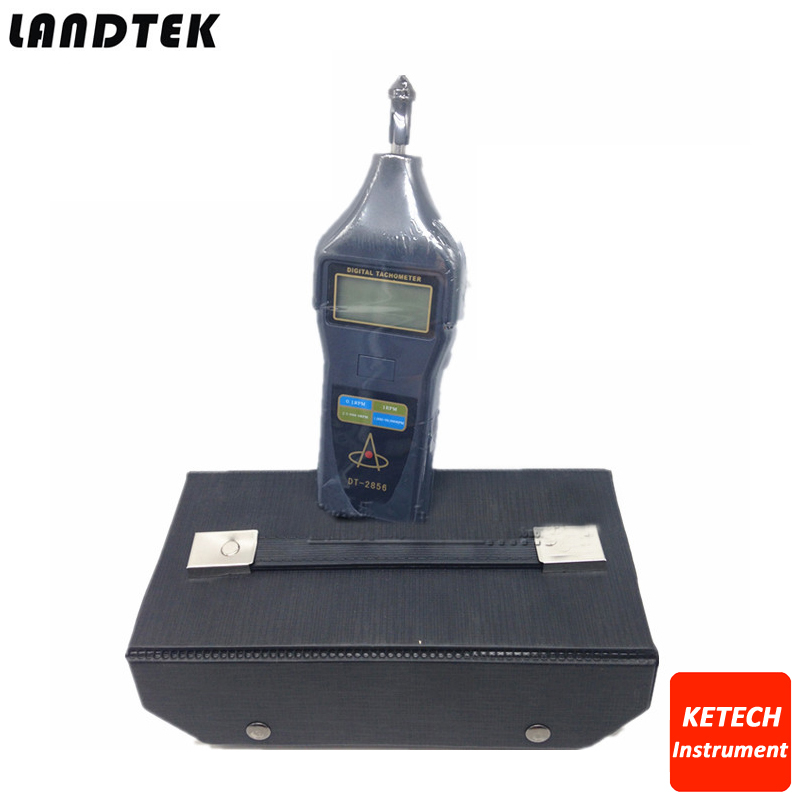 DT2856 Portable Digital Tachometer DT-2856 photo touch type tachometer dt 2856
