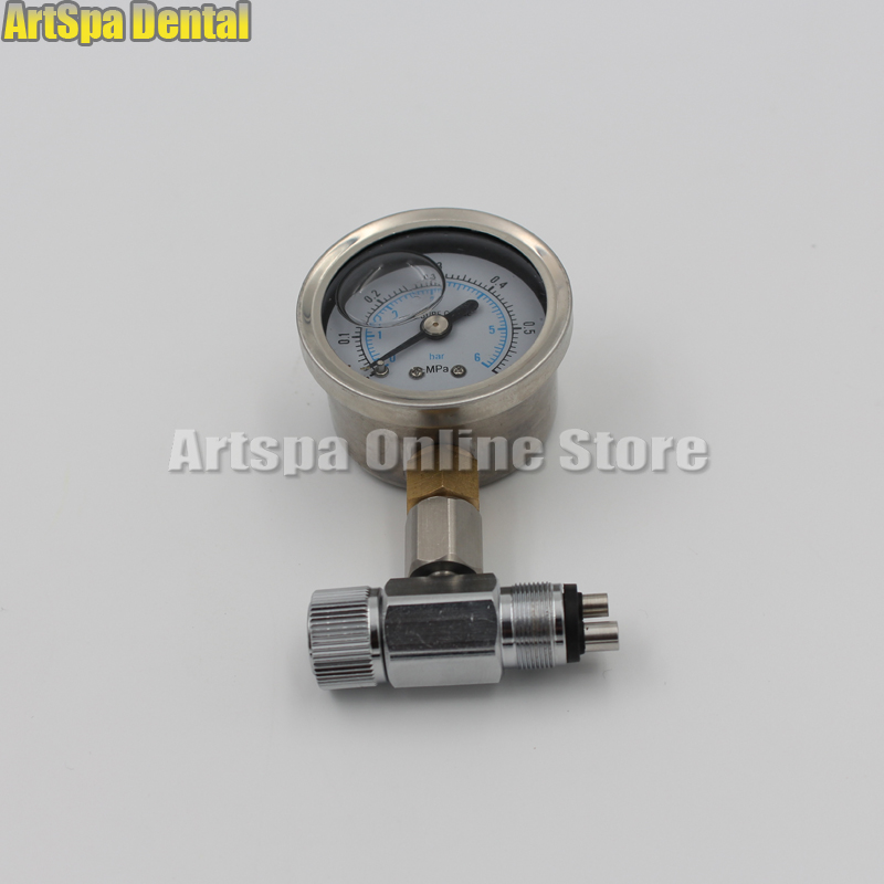 Dental Chair Unit Air Compressor Air Pressure Relief Valve Manometer Meter Dental Air Pressure GaugeDental Chair Unit Air Compressor Air Pressure Relief Valve Manometer Meter Dental Air Pressure Gauge