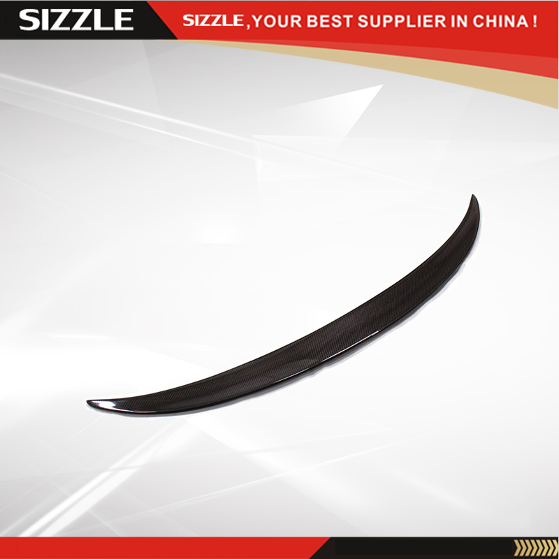 Performance Trunk Spoiler Carbon Fiber Spoiler For BMW X6 E71 2008 2009 2010 2011 2012 2013 car rear trunk security shield shade cargo cover for nissan qashqai 2008 2009 2010 2011 2012 2013 black beige